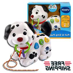 VTech Pull and Sing Puppy Educational Toys Baby Skills Adven