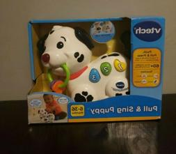 VTech Pull & Sing Puppy Toy For Baby & Toddler 3-6 Months Ne