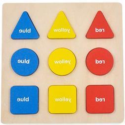 GYBBER&MUMU Puzzle Jigsaw Toy Shape Color Recognition Geomet