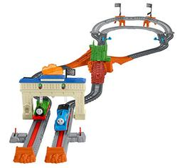 Railway Race Set Fisher Price Thomas The Train Track Master