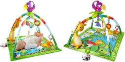 rainforest music lights deluxe gym
