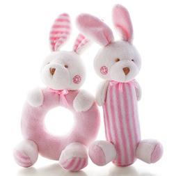 SHILOH Baby Rattle Plush Soft Toys Newborn Gift Crib toy 7.2