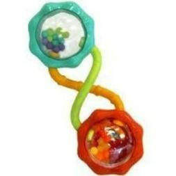 Bright Starts Rattle and Shake Barbell, 2 Pack