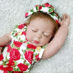 Reborn Baby Dolls Girl Full Body Vinyl Silicone Newborn Toys