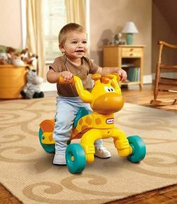 Ride On Giraffe Toy Toddler Scoot Indoor Outdoor Safe Play H