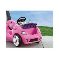 Girls Riding Push Car Toy Toys Big Wheel Pink Walker Baby To