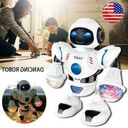 Toys for Boys Dancing Walking Toddler Robot Lights Sounds Ba