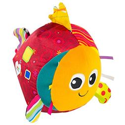 LAMAZE - Rolling Rosa Toy, Help Baby Reach, Push, and Get Cr