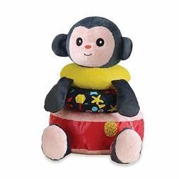Manhattan Toy Savanna Monkey Tactile Activity Stacker