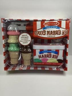 Scoop and Stack Ice Cream Cone Set, Play Food