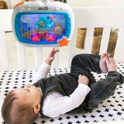 Baby Einstein Sea Dreams Soother Crib Toy with Remote, Light