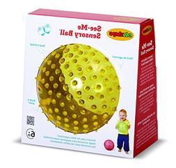 Edushape See-Me Sensory Ball, 7 Inch, Colors May Vary