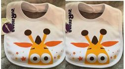 Set Of 2 Bibs Geoffrey The Giraffe Toys R Us Babies R Us Bab