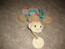 INFANTINO SHAKE AND PULL JITTERYPAL MONKEY TEETHER AND RATTL