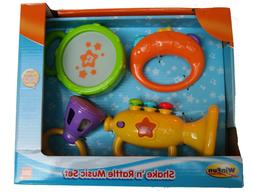 Shake 'n Rattle Music Set. Educational Toys Set Baby 3m Plus