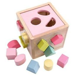 Shape Classification Box Toys Children Color Recognition Cov