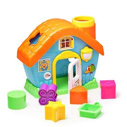 infunbebe Shape Sorting House Toy My First House with Shape