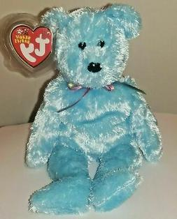 Ty Beanie Baby ~ SHERBET the Blue Bear ~ MINT with MINT TAGS