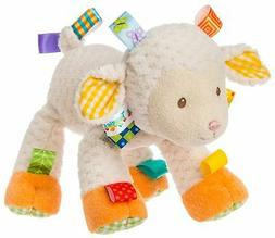 Taggies SHERBET LAMB SOFT TOY Baby Comforter Soft Toys Activ