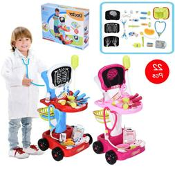 simulation electric doctor medical trolley toy pretend