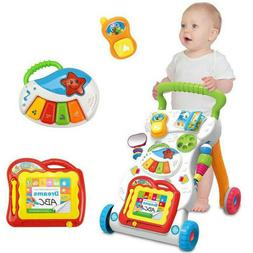 Sit-to-Stand Learning Walker Developmental Baby Toy with Int