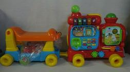 VTech Sit-to-Stand Ultimate Alphabet Train Sit To Stand Ride