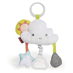 Skip Hop Silver Lining Cloud Jitter Stroller Toy Multisensor
