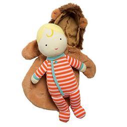 Manhattan Toy Snuggle Baby Doll & Hooded Lion Sleep Sack