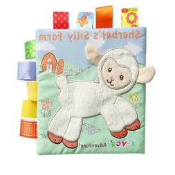 Soft Animal Baby Owl Lamb Story Book Early Education Toys Cr