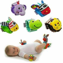 Soft Baby Wrist Strap Ankle Bell Children Supplie Rattle Kid