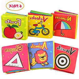 Aitey Soft Books for Babies, Baby First Book Nontoxic Resist