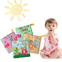 soft cloth baby book with rustle sound