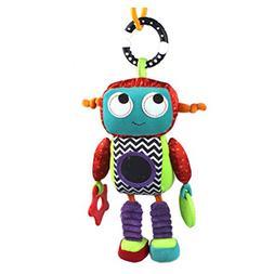 YeahiBaby Baby Soft Hanging Toy Robot Stuffed Stroller Crib