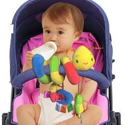 Soft Infant Stroller Spiral Baby Toys For Newborns Car Seat