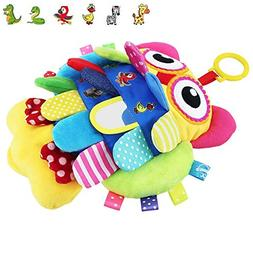 teytoy Soft Baby Toy, Flip Owl Early Education Toys Activity