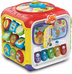 VTech Sort and Discover Activity Cube , Red