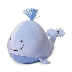 Gund Baby Sounds and Lights Whale Stuffed Animal Plush Toy,