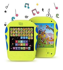 Spanish Learning Tablet Educational Toy by Boxiki Kids. Touc
