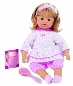 "Corolle Special Feature Baby Doll Marie Interactive - 17"" Do"