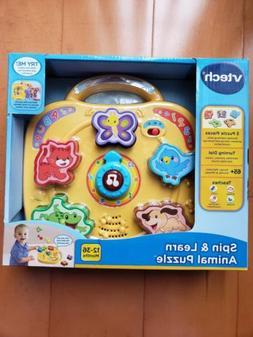 Vtech SPIN & LEARN ANIMAL PUZZLE Interactive Musical Toddler