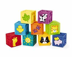 Earlyears Squeak 'n Stack Blocks Baby Toy 6 - 24 Months