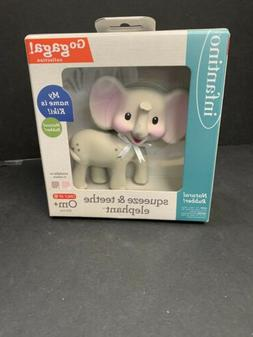 Squeeze And Teethe Elephant Teething toy