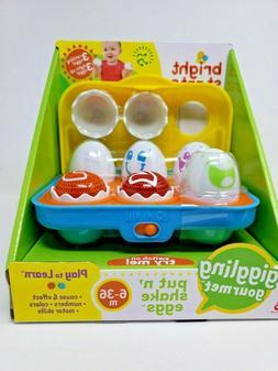 Bright StartsTM Giggling GourmetTM Put 'n Shake EggsTM Pack