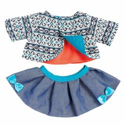 "Manhattan Toy Baby Stella Cozy Chic 15"" Baby Doll Clothing S"