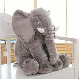 Stuffed Elephant Animal Plush - Toys for Baby, Boy, Girls  1