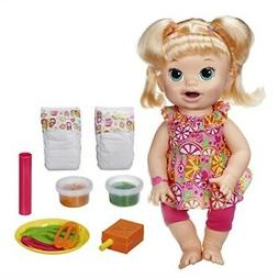 BABY ALIVE Super Snackin Snacks Sara Blonde Speaks English D