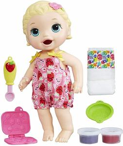 Baby Alive Super Snacks Snackin' Lily Blonde Interactive Dol