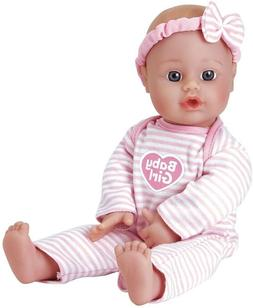 Adora Sweet Baby Girl Doll Washable Soft Body Vinyl Play Toy