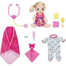 Baby Alive Sweet Tears Baby, Blonde Exclusive Value Pack