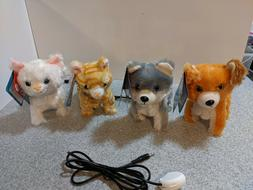 Switch Adapted Toys- Walking puppy or Kitten, Adaptive toy,